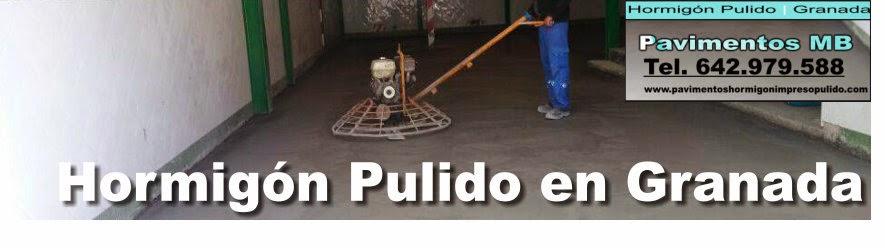 Hormigón Pulido Granada