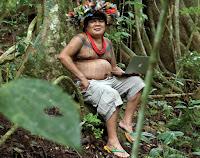 Almir Surui y la tecnología en el Amazonas.