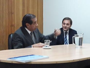 El Dr. Adolfo Caballero presidió una reunión de trabajo de Calidad Judicial