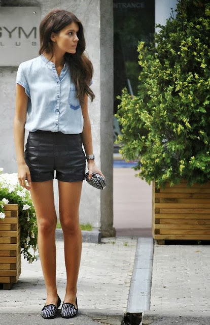 แฟชั่นกางเกงขาสั้นสำหรับผู้หญิง