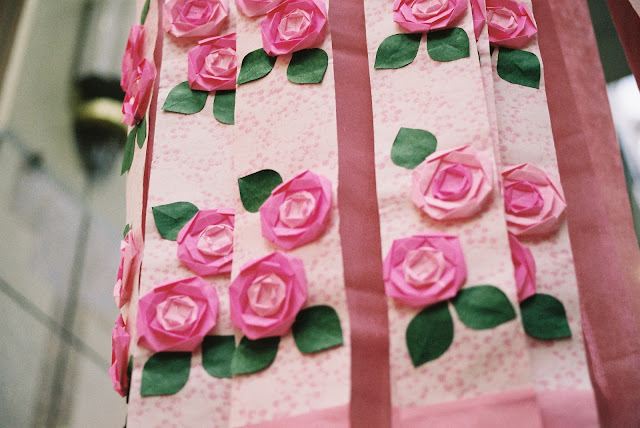 pink rose decorations