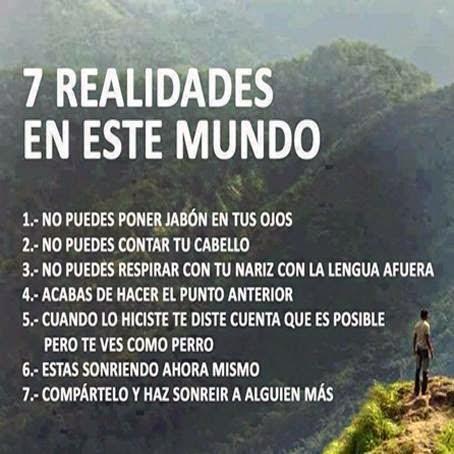 7 Realidades En Este Mundo