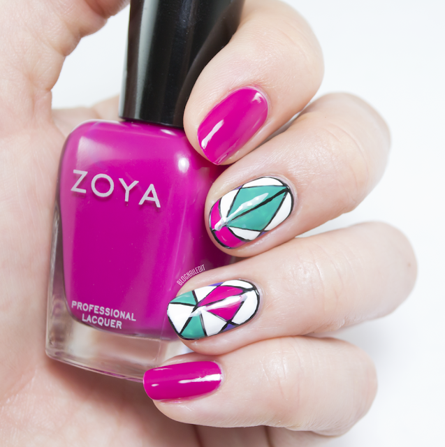 Zoya Island Fun and Windows to the Nail Art Soul