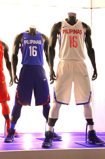 Nike Unveiled The 2016 Gilas Pilipinas National Team Kits For Oqt And Olympics