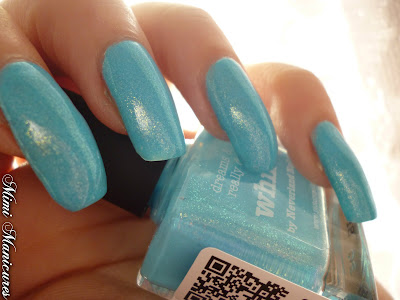 picture polish whimsy blue shimmer polish