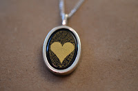 Nano I love you pendant