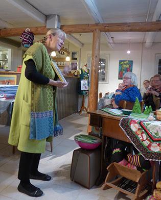 Grethe Gulliksen Moe snakker om hendes nye bog Kult at sy