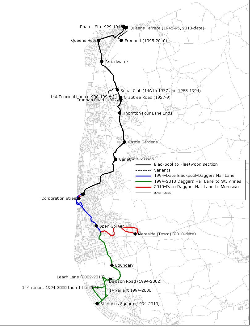 fylde bus blog: route 14