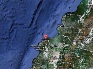 Sísmo de 5,7 grados en Ecuador 8 de Febrero de 2012