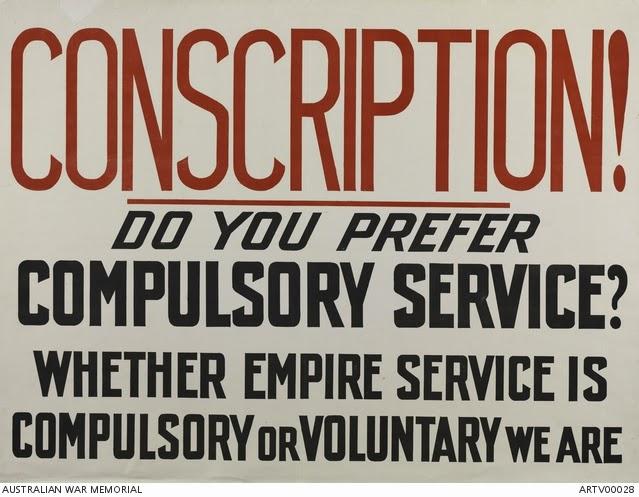 canadian conscription essay