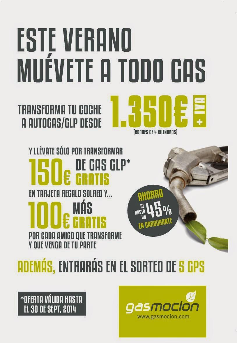 Promoción de ayudas para el Autogas/GLP entre Repsol y Gasmocion.