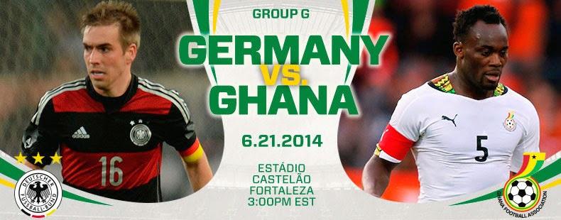 Alemania-Ghana