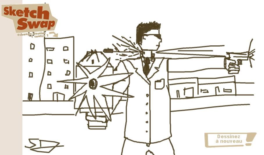 sketch swap dessiner en ligne et échanger ses dessins avec les autres