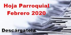 Hoja Parroquial Febrero 2020