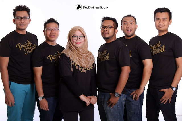 Photoshoot Projek Travel Bersama De Brothers Studio