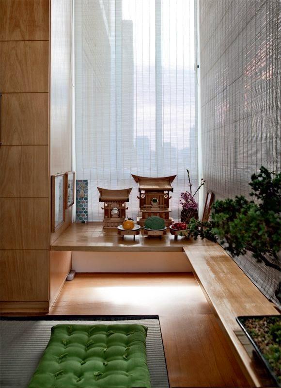 Decoração Yoga ~ blog de decoraç u00e3o Arquitrecos Espaços para oraç u00e3o e meditaç u00e3o em casa