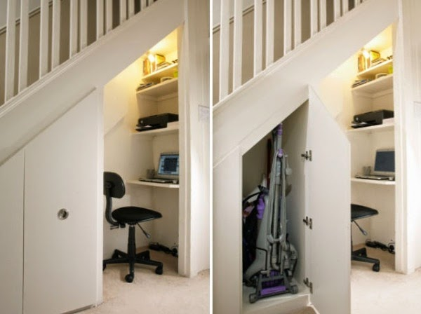 cupboard under the stairs storage ideas 2