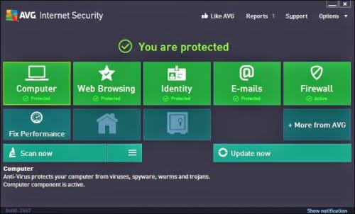 برنامج ايه فى جى إنترنت سيكيورتى AVG Internet Security Business 2015 15.0   كامل بالتفعيل للحميل برابط مباشر