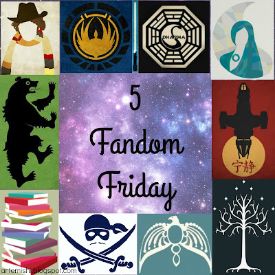 Five Fandom Friday at Printcess