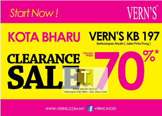 VERN'S Clearance Sale 2012