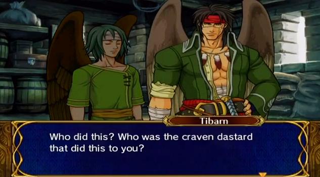 Tibarn says dastard.