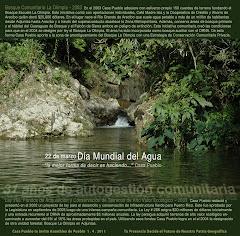 En el Día Mundial del Agua