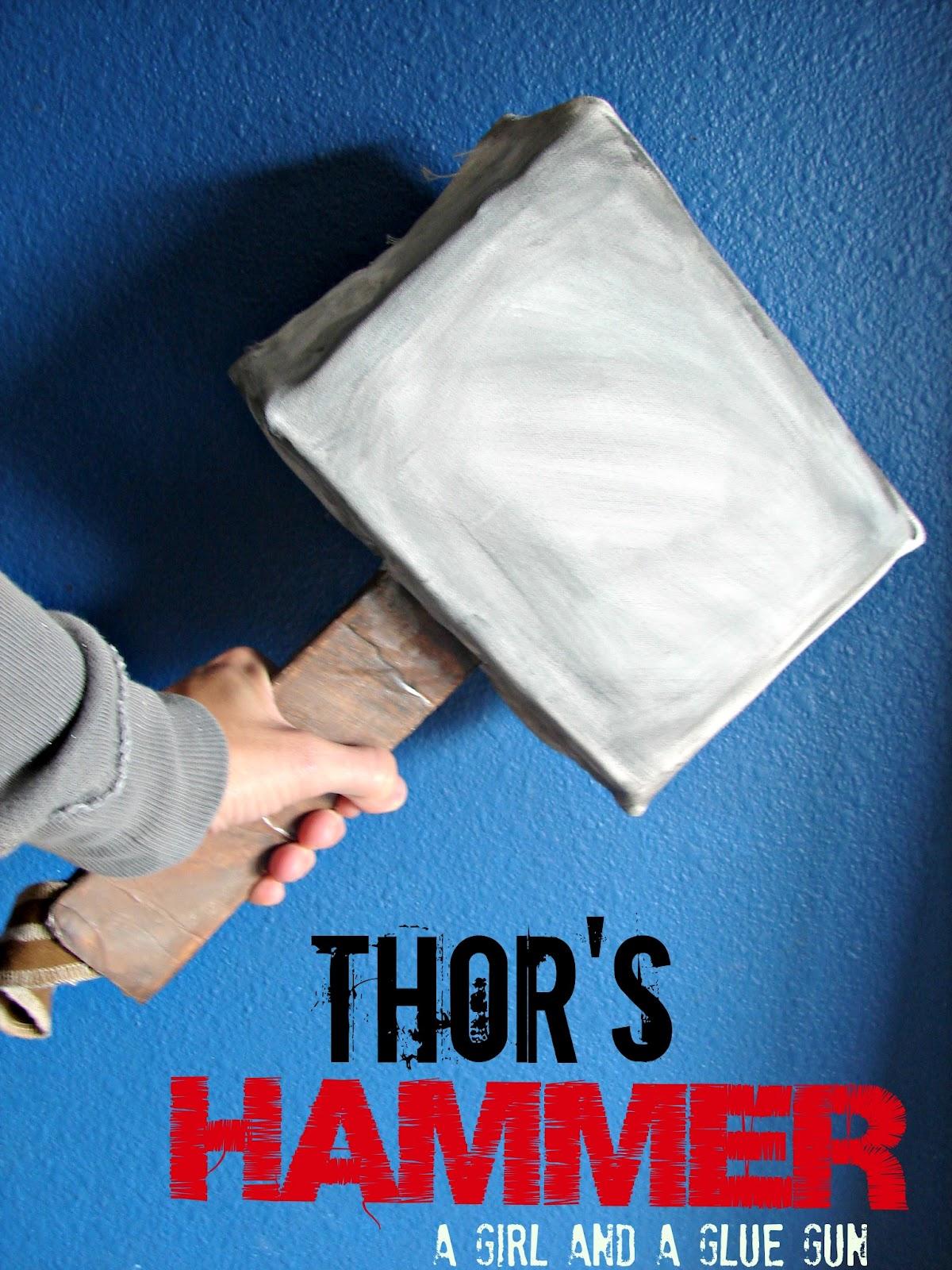 thor\u0027s hammer... - A girl and a glue gun