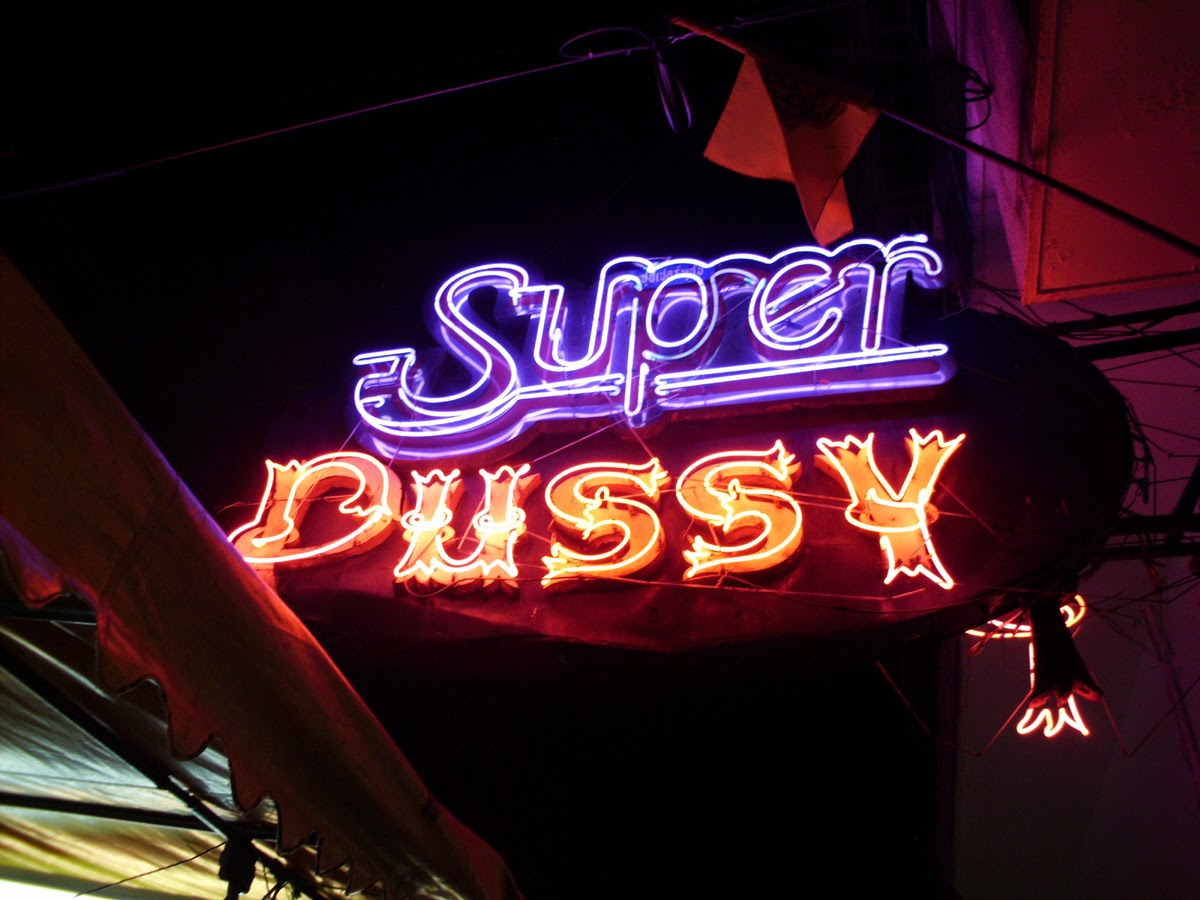 the trash super pussy club of patpong in bangkok, thailand | pinoy