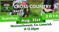 Sun 31st Aug...Open X-Country in Newcastlewest
