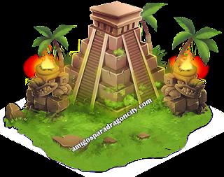 imagen del habitat azteca de dragon city