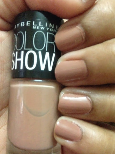 Maybelline Color Show ~ nude skin