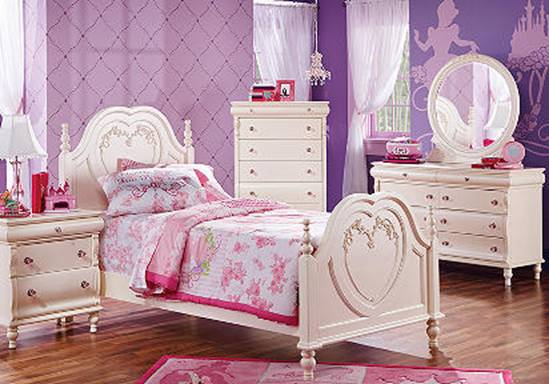 Dormitorios de princesa disney dormitorios colores y estilos for Princess style bedroom furniture