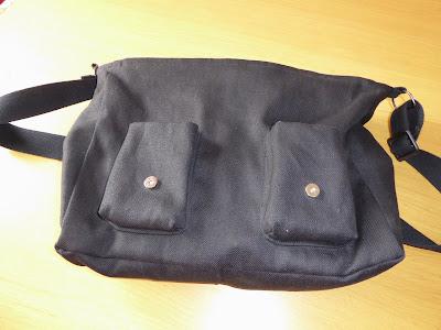 modistilla de pacotilla echino fabric bolso para hombre messenger bag diy