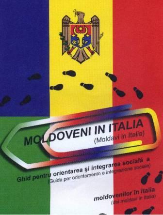 """PROIECTUL: """"Ghid pentru orientarea şi integrarea socială  a moldovenilor în Italia""""."""