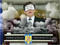 Funny photo Crin Antonescu Do Not Disturb