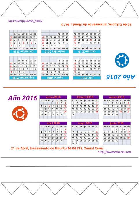 Esbuntu calendario de mesa ubuntero 2016 - Calendario de mesa ...
