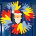 Muitas sugestões de enfeites de Natal, guirlandas, árvore de Natal com fotos dos pequenos no Polo Municipal Luz do Saber!