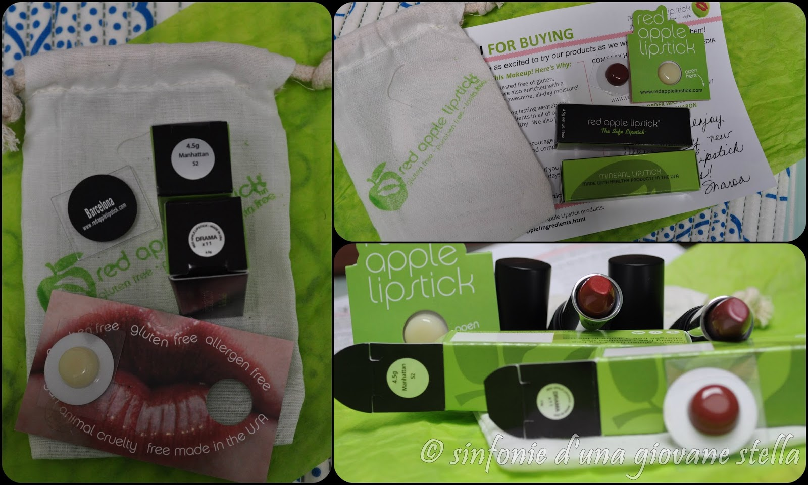 collaborazione ● red apple lipstick gluten free
