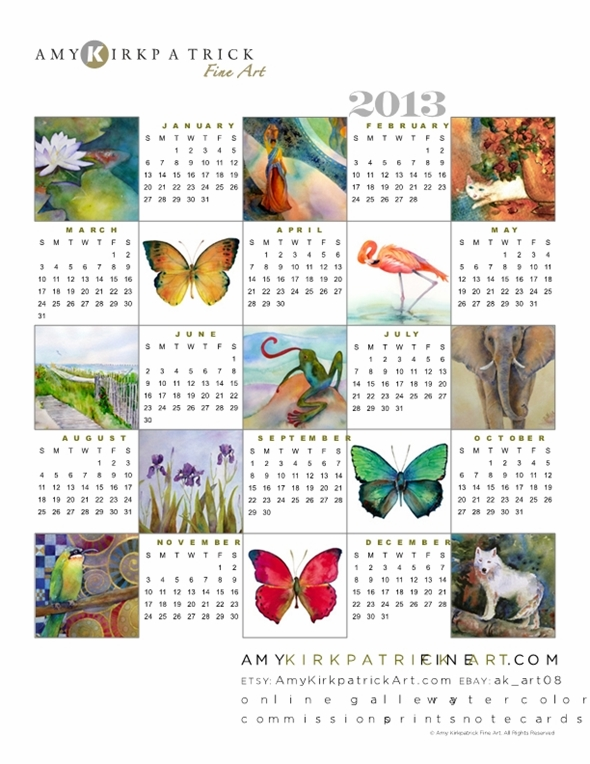Calendar Fine Art : Lee caroline a world of inspiration free printable