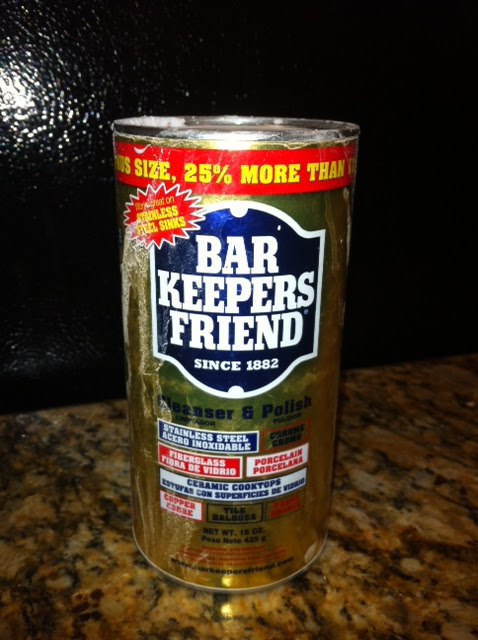 How to Clean Brass with Bar Keepers Friend