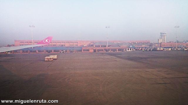 Aeropuerto-Tribhuvan-Katmandu