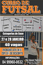 Curso de Futsal em Major Sales-RN