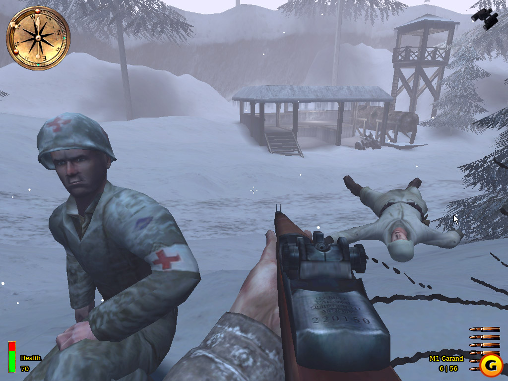 medal of honor allied assault cheats