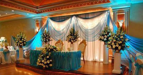 Decoracion de bodas con telas parte 1 for Decoracion con telas