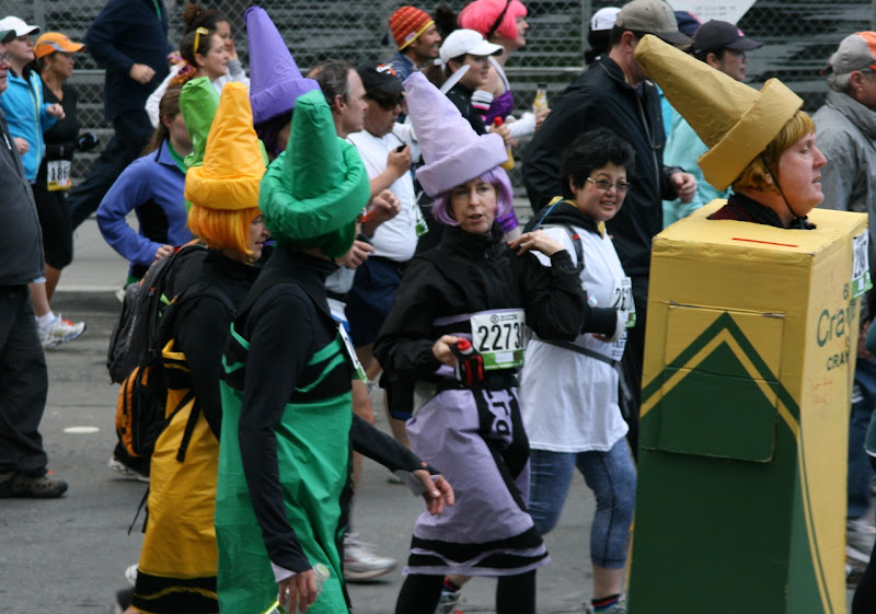 100th Bay to Breakers crayon costumes