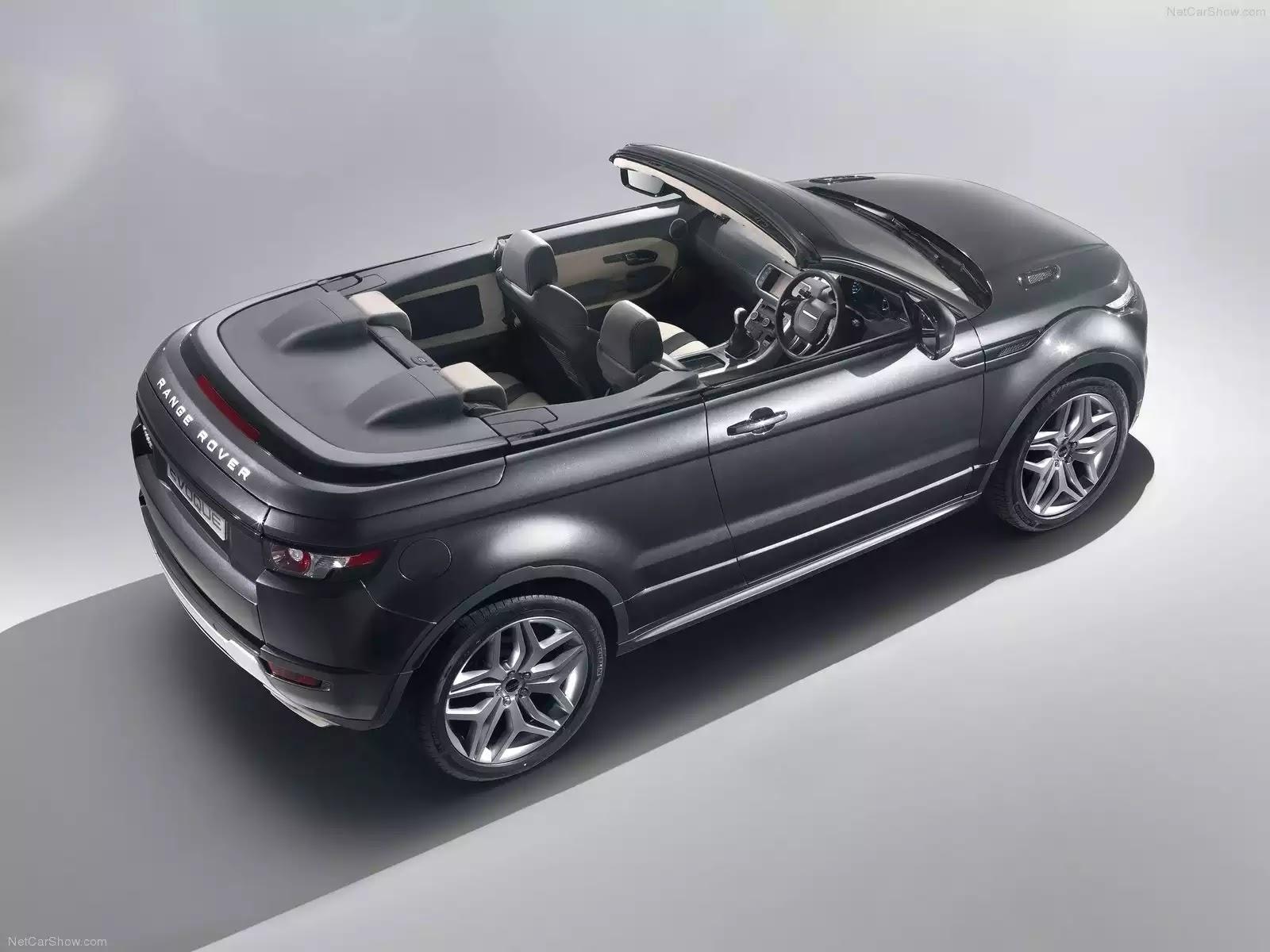 Hình ảnh xe ô tô Land Rover Range Rover Evoque Convertible Concept 2012 & nội ngoại thất