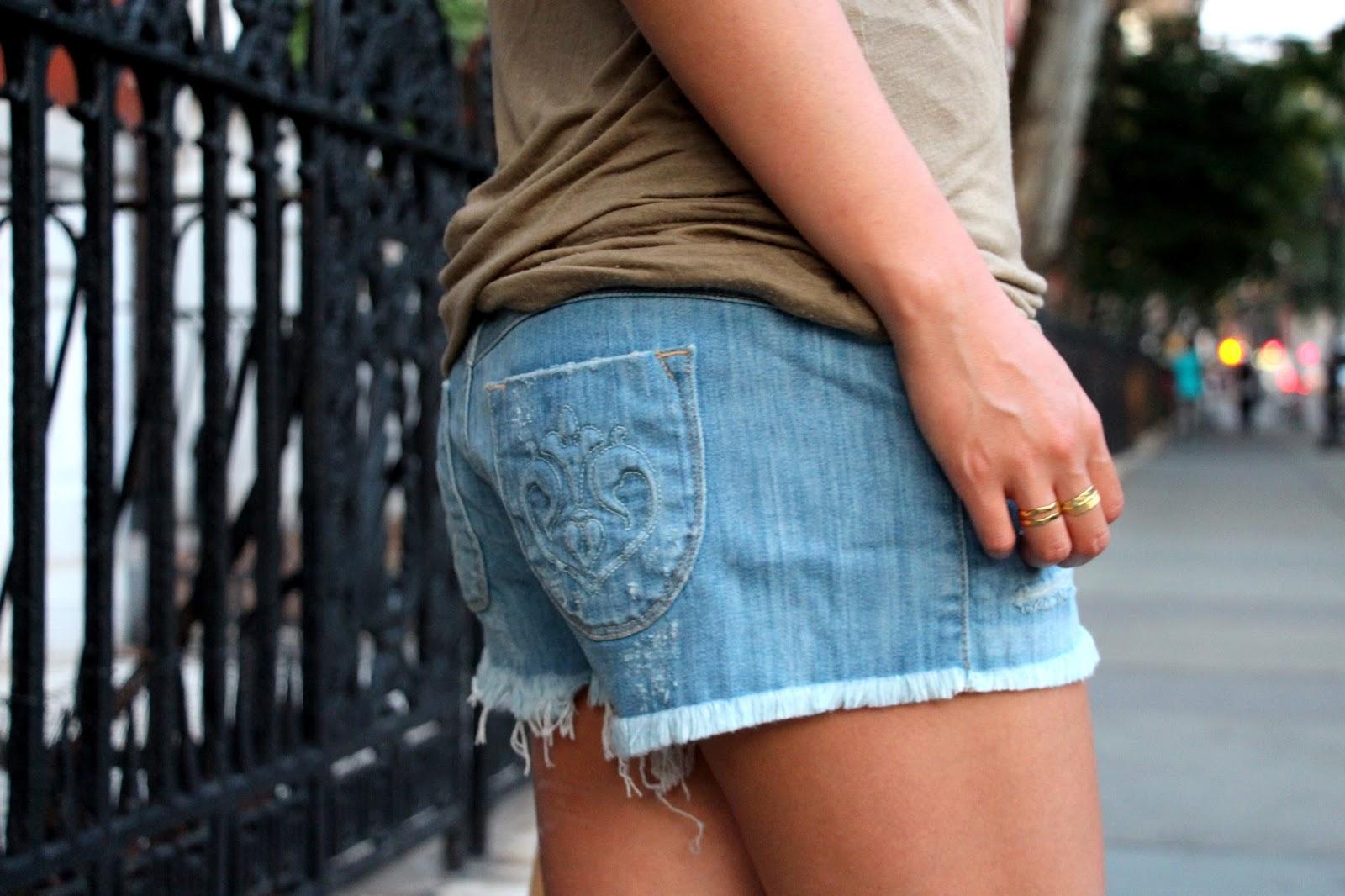 siwy camilla denim shorts cutoffs