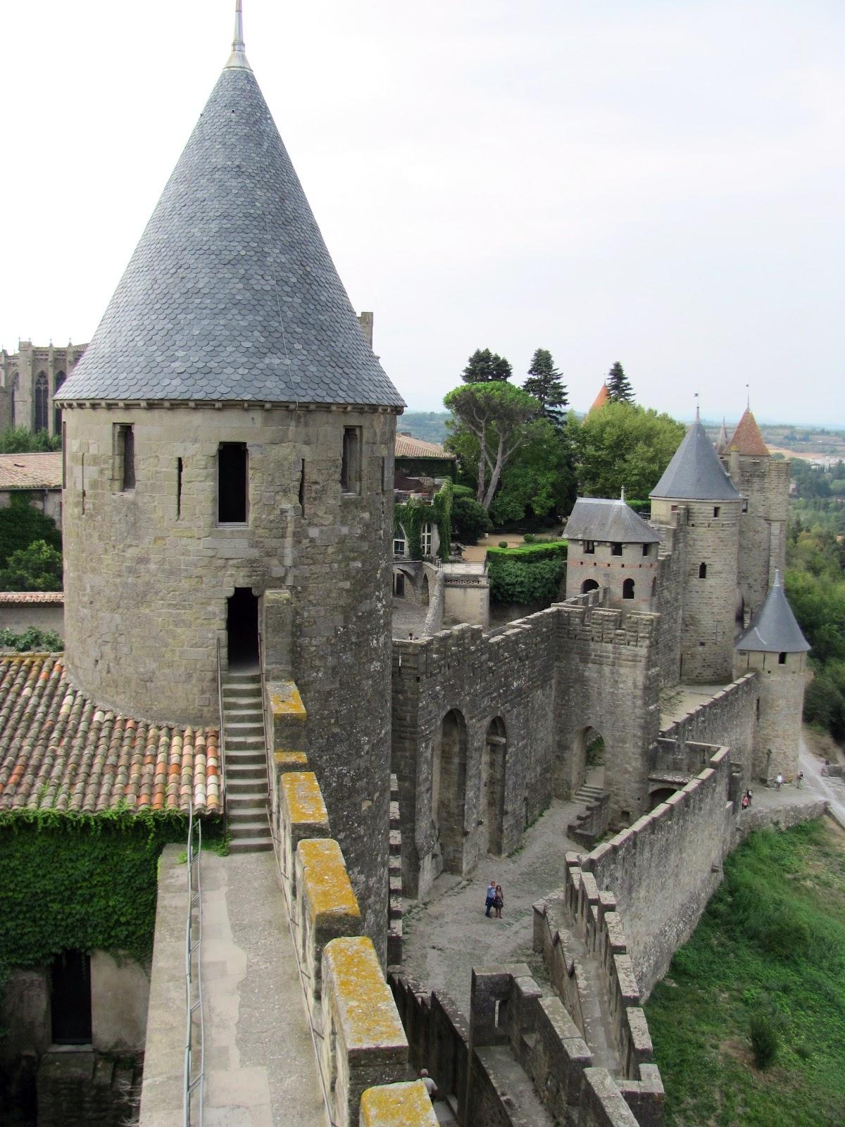 Europe 2012 carcassonne les tours for Auberge jardin champetre magog