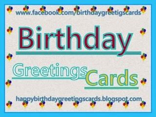 Tarjetas de Cumpleaños en Inglés