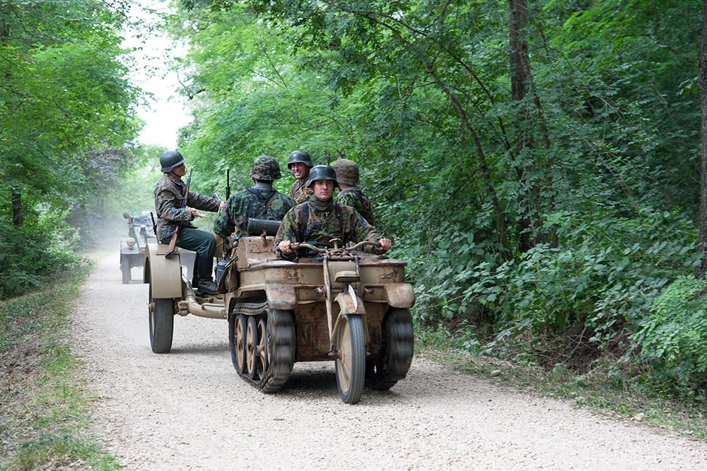 SdKfz 2 Kettenkrad traina flak ternavasso